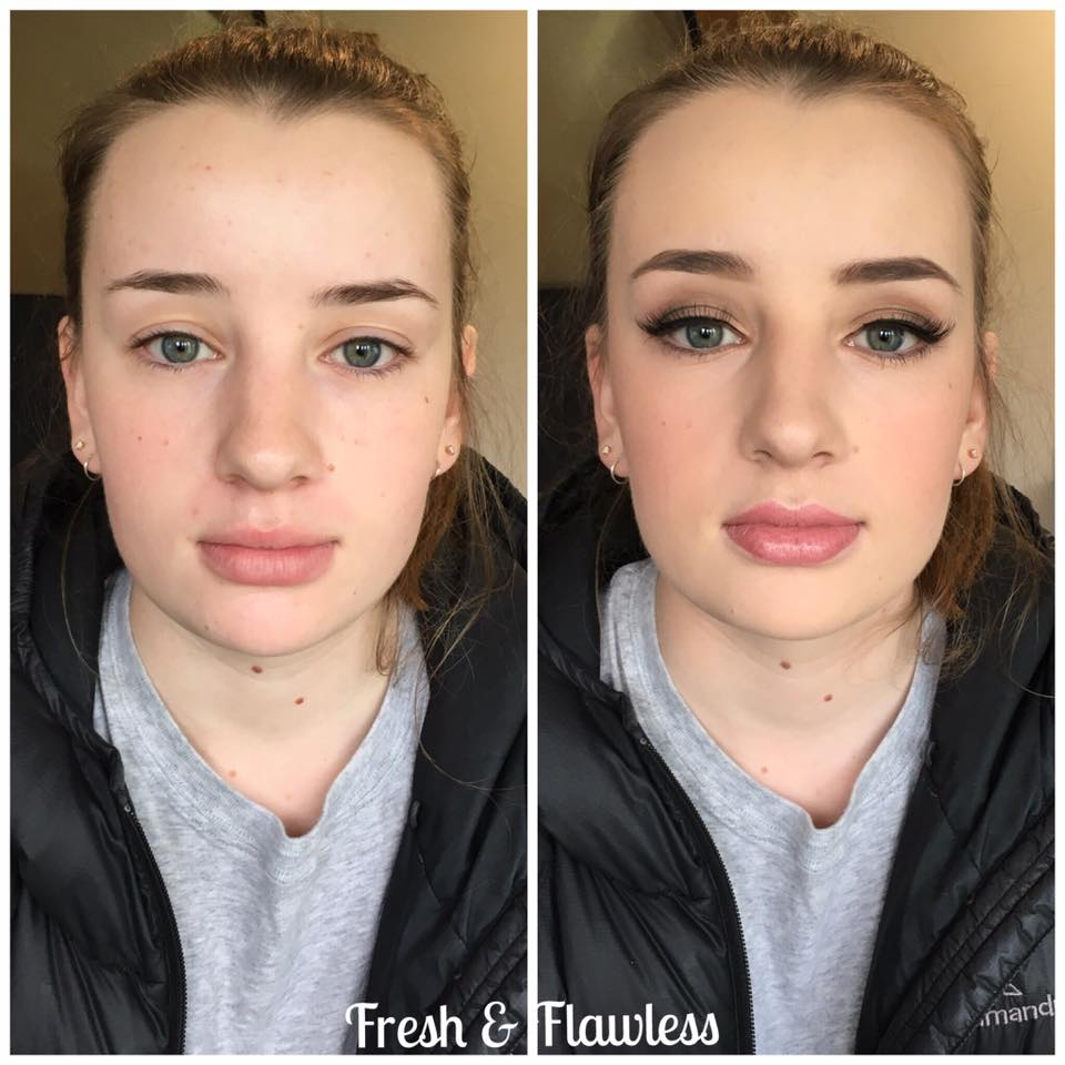 School Ball Makeup Artist