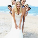 Langs Beach wedding