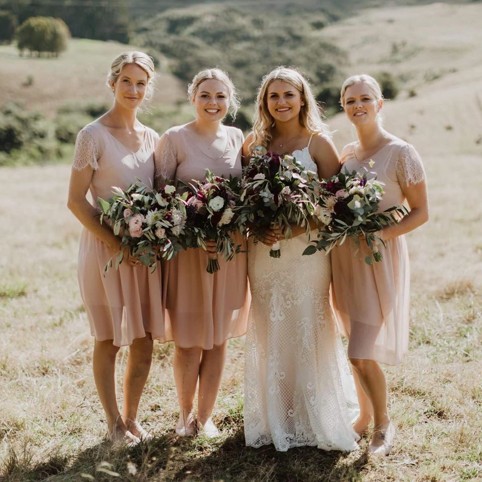 Bridal party auckland makeup artist
