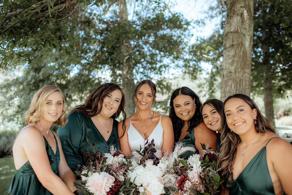 bridal party hair and makeup auckland
